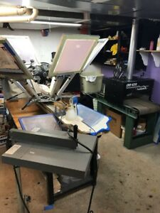 Screen Printing Equipment Materials Supplies Complete Shop
