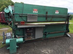 Bendall 10 Ft Mechanical Metal Brake By Engel Equipment