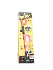 The Club 1020t Original Club Steering Wheel Lock Pink Anti Theft New Old Stock