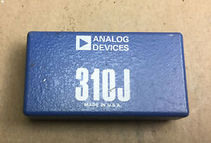Analog Devices Ad 310j Ultra Low Bias Varactor Bridge Operational Amplifier