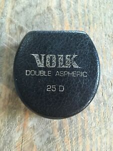 Volk 25d Double Aspheric Indirect Ophthalmoscopy Lens Fundus
