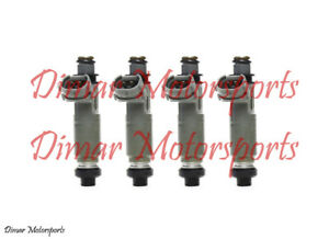 3 Year Warranty 350cc 33lb Denso Fuel Injector Set 73mm Height 11mm O Rings
