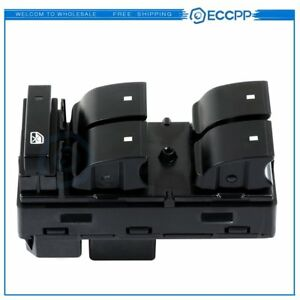 For Gmc Acadia 2007 15 Power Master Window Switch New Front Driver Side 20945224
