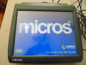 400814 001c Micros Ws5 Workstation 5 Pos Touchscreen System