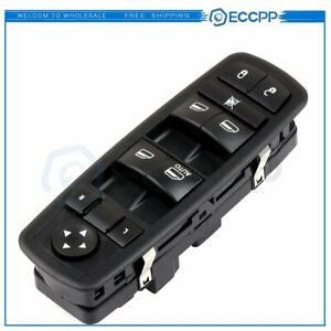 Power Master Window Switch For Jeep Liberty Dodge Nitro 2008 2012 New Front Left