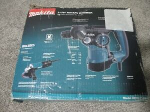 Makita Hr2811fx 1 1 8 Rotary Hammer Drill With 4 1 2 Angle Grinder