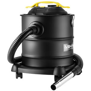 Portable Ash Vacuum Cleaner Wet dry Fireplaces Stove Bbq Dust Household