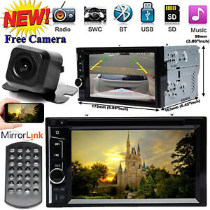Fit Ford Expedition Edge Explorer 04 2014 Bluetooth Car Stereo Dvd Player camera