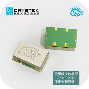 Crystek Cchd 957 Ultra Low Phase Noise Crystal Femtosecond Clock 22 5792 24 5760