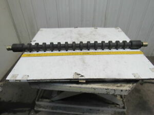 Crouse Hinds L107 Series Stiff Rigid Return Conveyor Roller For 48 Belt