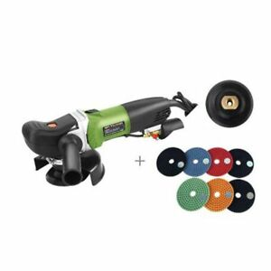 220 110v Variable 6speed Wet Granite Concrete Stone Polisher Grinder Machine New