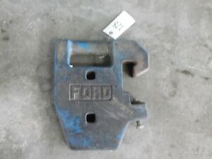 Ford Tractor Suitcase Weight Fit 2000 3000 4000 5000 Etc Tag 125