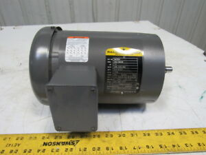 Baldor Vm3554 1 5hp 1750rpm 3ph 208 230 460v 60hz 56c 5 8 Shaft Ac Motor