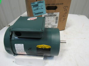 Baldor Veuhm3554 1 5hp 1750rpm 3ph 230 460v 60hx 56c 5 8 Shaft Ac Motor
