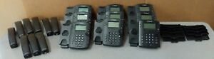 Lot Of 4 Polycom Vvx300 2201 46135 001 Voip Business Media Phones Untested