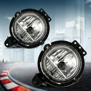 For 2007 2015 Mini Cooper Fog Light Clear Lens Lamp Replacement