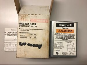 Honeywell tradeline Ra832a Ra832a1074 Switching Relay Transformer Primary