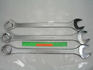 3pc Jumbo Combination Wrench Set Blackhawk Usa