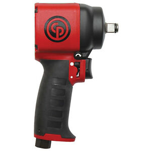 Chicago Pneumatic 1 2 Dr Ultra Compact Composite Stubby Impact Wrench Cp 7732c