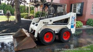 Bobcat 763 Skid Steer Loader 46hp Diesel Fully Serviced Great Tires No Issues