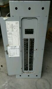 General Electric 200amp Electrical Panel With Breakers Included