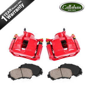 For Lexus Gs300 Is250 Front Powder Coated Brake Calipers Ceramic Pads