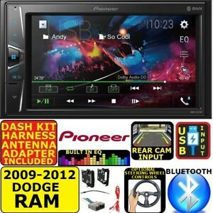 2009 2012 Dodge Ram Truck Bluetooth Touchscreen Usb Aux Car Radio Stereo