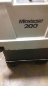 Minuteman 200 Series Battery Floor Scrubber