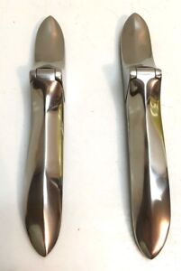 Plymouth Dodge Desoto Chrysler Trunk Boot Hinge Set Stainless 1937 1939