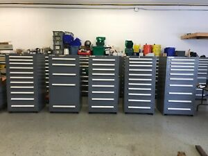 Used Stanley Vidmar Industrial Cabinet Lot Of 5 Units 1 Lot