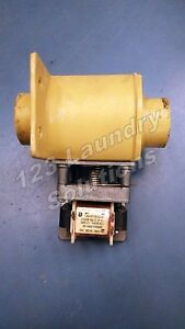 Washer Drain Valve 115v 50 60hz Continental Girbau P n 20369111 Used