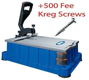 Kreg Db210 Foreman Pocket hole Machine Includes free Box Of 500 Kreg Screws