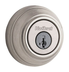 Kwikset Deadbolt Single Cylinder Gr 1