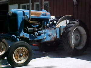Antique Ford Tractor Model 2000 Offset Rare