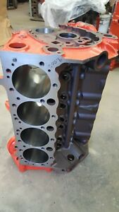 327 Chevy Or Corvette Engine Block Sm Journal Bored Decked Date Code L 27 62