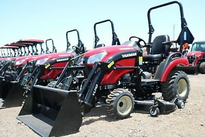 212 Mo 2018 Yanmar 221xh tld 4x4 Tractor Loader And Mower Deck With Options