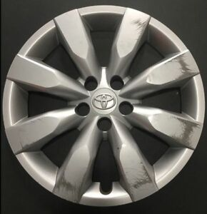 Factory Toyota Corolla Hubcap Wheel Cover 2014 2015 2016 16 Genuine 61172 Used