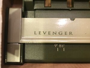 Levenger Circa Portable Punch 11 Hole New In Box