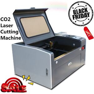 Ruida 50w Co2 Laser Engraving And Cutting Machine 500mm 300mm Usb Port Red dot