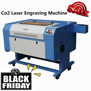 50w Laser Engraving cutting Machine Laser Engraver 300x500mm With Rotary New