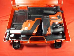Hilti Te 6 a36 avr Cordless Hammer Drill W Drs 6 a Dust Collector