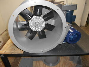 18 Dia Tube Axial Exhaust Fan For Paint Spray Booth