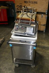 Star Pro max Electric Panini Grill 110v With Cart