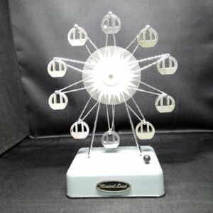 Antique Ferris Wheel Music Box Japan Retro Popular Rare Beautiful Cute Ems F S
