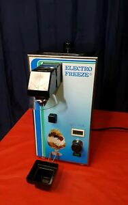 Electro Freeze Model Wc3 Whipped Cream Dispenser Machine