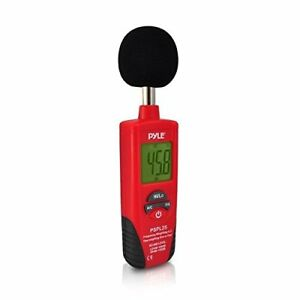 Pyle Digital Handheld Sound Level Meter W A And C Frequency Weighting For