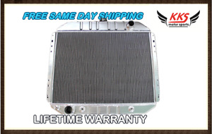 3 Row Aluminum Radiator 66 67 68 69 70 71 72 73 79 Ford Truck Pickup F 150 F 250