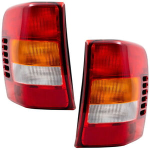 Pair Tail Lights For 02 04 Jeep Grand Cherokee Tail Lamp Lens Set Circuit Boards