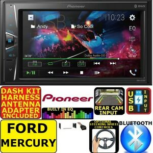 Ford Mercury Touchscreen Pioneer Bluetooth Usb Radio Stereo Double Din Dash Kit