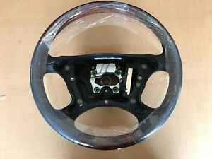 New Oem 06 09 Mercedes Benz E Class Wood Trim Leather Steering Wheel 66268482